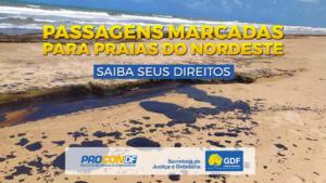 MANCHA DE ÓLEO NAS PRAIAS DO NORDESTE